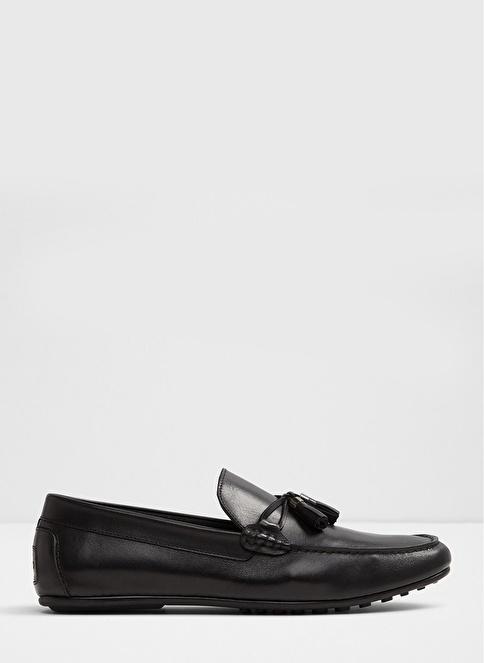 Aldo %100 Deri Loafer Ayakkabı Siyah